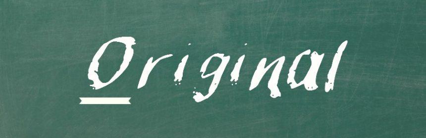Wann wird Original groß geschrieben?
