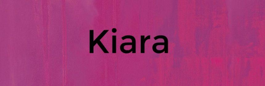 Kiara was bedeutet der Name?