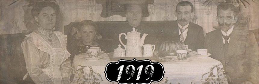 Was geschah im Jahr 1919?