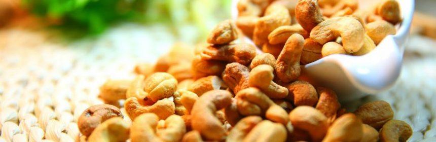 Cashewkerne sind das Nüsse?