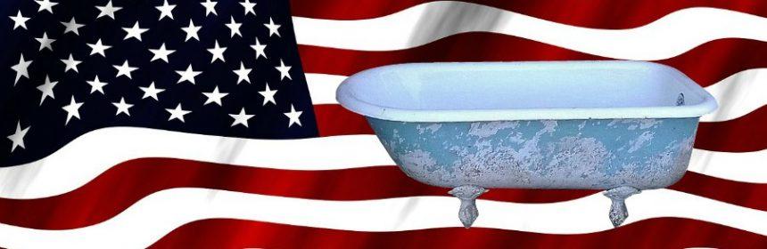 Welcher US-Präsident blieb in der Badewanne stecken?