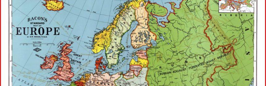 An welche Länder grenzt Russland?