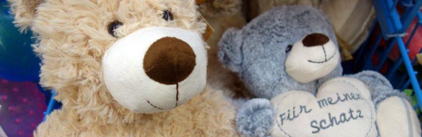 wohin mit alten teddybären?