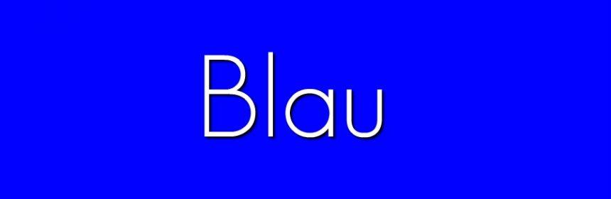 Blau welche Bedeutung?