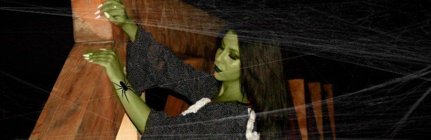 Warum sind Hexen grün?