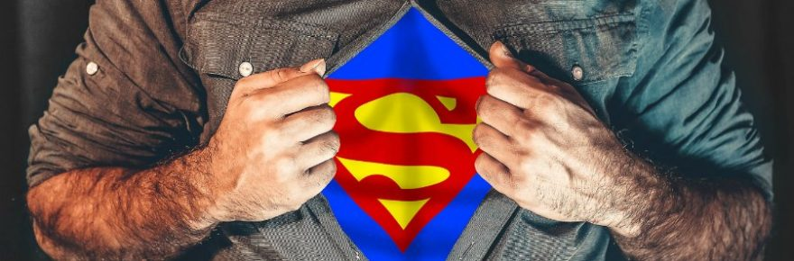Warum erkennt niemand Superman?