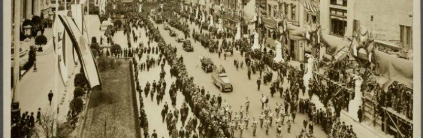 Welche Situation veranlasste die USA in den 1. Weltkrieg einzugreifen?