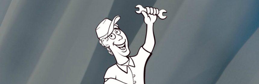 Wo ist das Schraubenschlüssel Symbol?