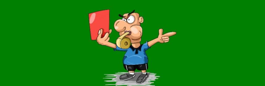 Seit wann rote Karte im Fußball?
