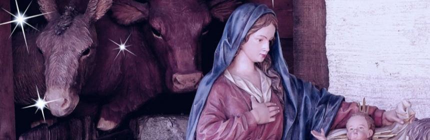 Wieso stehen Weihnachten Ochs und Esel an der Krippe?