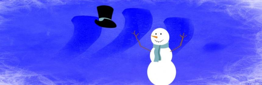 Braucht der Schneemann einen Hut?